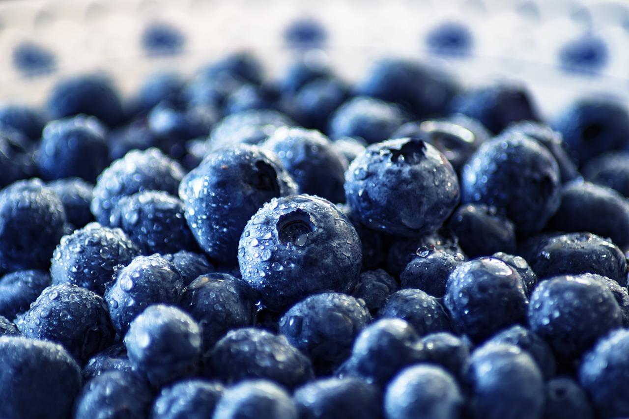 Ikke bare blåbær, nei!